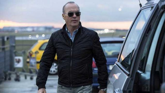 Jacket worn by Stan Hurley (Michael Keaton) as seen in American Assassin