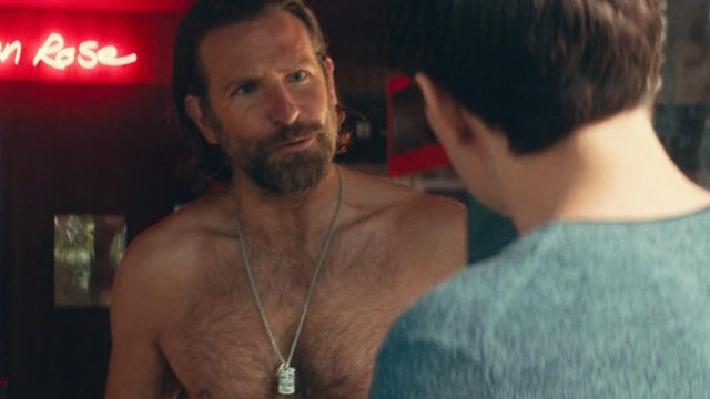 Pendant Necklace worn by Jack (Bradley Cooper) as seen in A Star Is Born