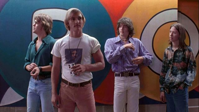 Le t-shirt de David Wonderson (Matthew McConaughey) dans le film Génération rebelle