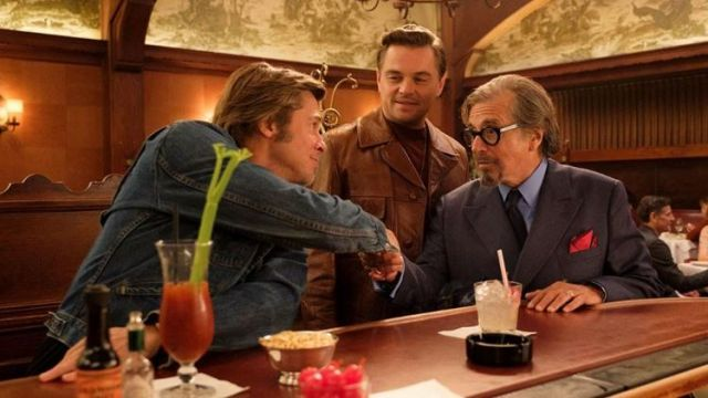 Brown Vintage Leather Jacket worn by Rick Dalton (Leonardo DiCaprio) in Once Upon a Time in Hollywood