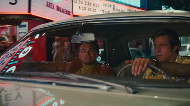 The turtleneck yellow Rick Dalton (Leonardo DiCaprio) in Once Upon a Time in Hollywood