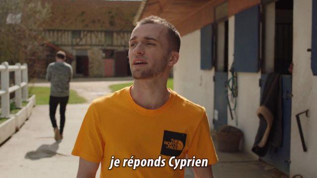 Le t-shirt The North Face porté par Squeezie dans sa vidéo YouTube ON FAIT LA PAIX ❤️ (clip Cyprien & Squeezie)