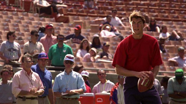 Wilson Football utilisés par Frank Cushman (Jerry O'Connell), comme on le voit dans Jerry Maguire