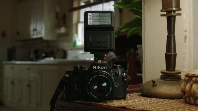 Nikon Camera of Tom Curry (Temuera Morrison) in Aquaman