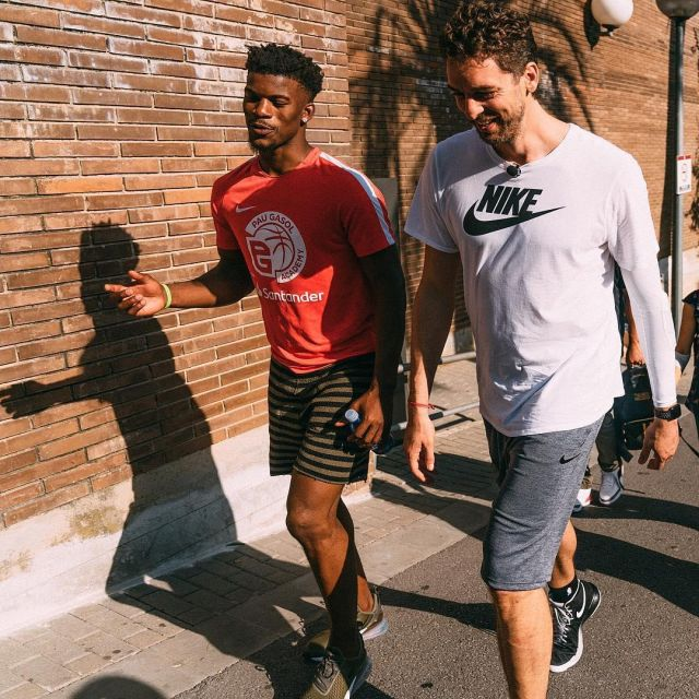Sneakers Nike Air Max 270 worn by Jimmy Butler on the