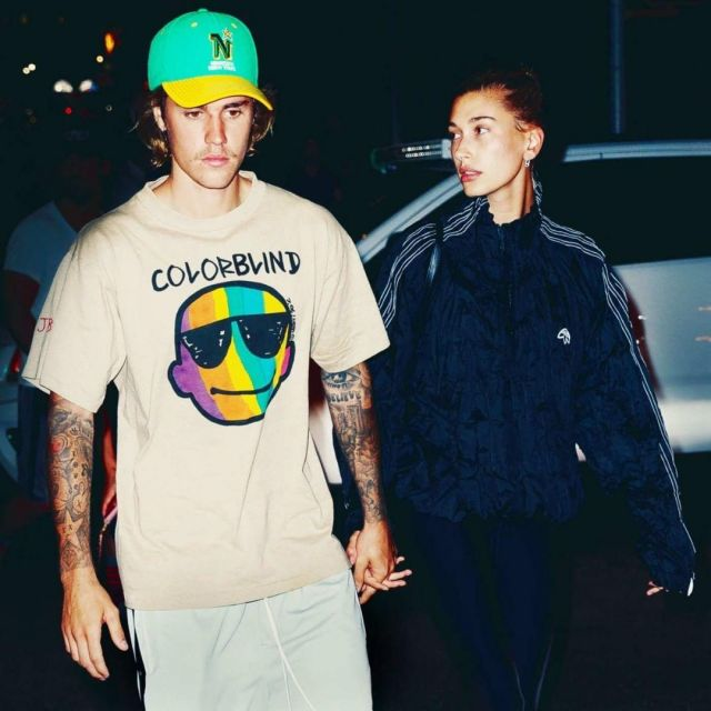 Le t-shirt Colorblind de Justin Bieber sur son compte Instagram @justinbieber