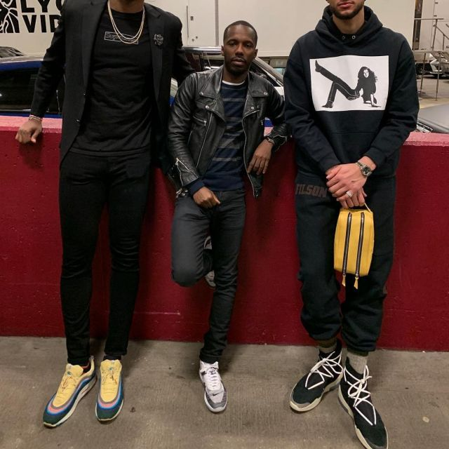 Sneakers Nike Air Fear Of God 1 worn by Ben Simmons on the