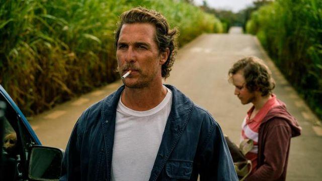 La veste de travail bleu marine de Baker Dill (Matthew McConaughey) dans Serenity