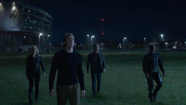 Cashmere Sweater worn by Steve Rogers / Captain America (Chris Evans) in Avengers: Endgame