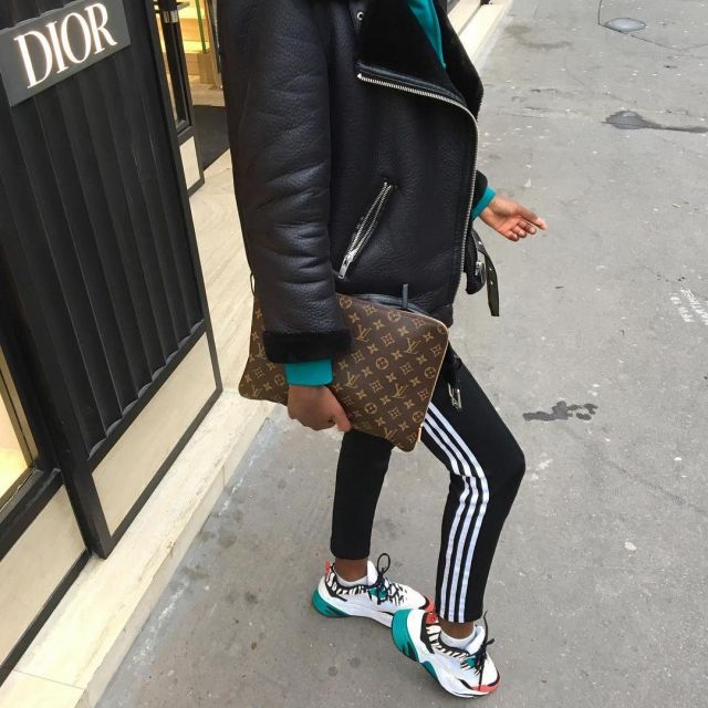 The Leggings Adidas Black Mary Amu On His Account Instagram Maryamou93 Spotern