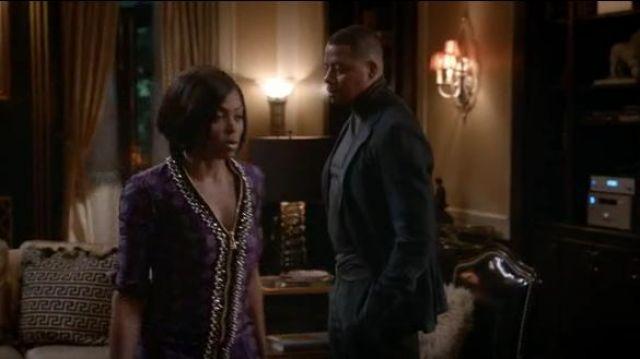 La Perla Embelli Front Zip Jacquard Mini Robe portée par Cookie Lyon (Taraji P. Henson) dans l'Empire (S04E18)