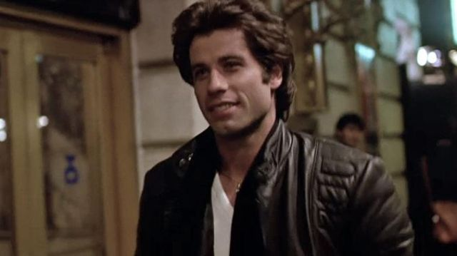 Leather Jacket worn by Tony Manero (John Travolta) as seen in Staying Alive