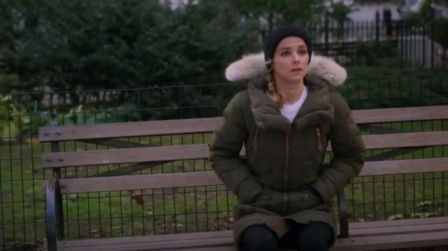 Sorel Conquest Carly Parka worn by Det