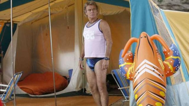 The replica of the tank top Dog Hot Dog worn by Patrick Chirac (Frank Dubosc) in Camping 3