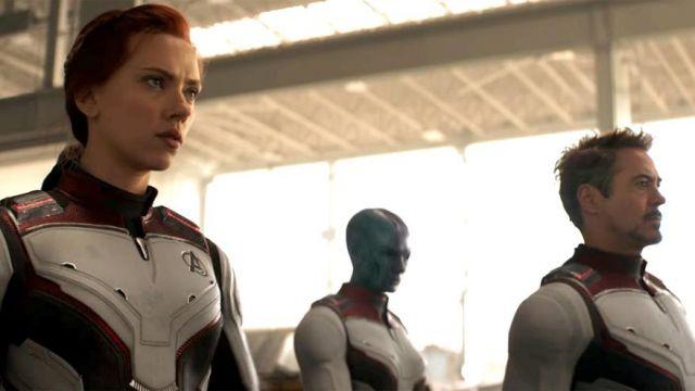 Natasha Romanoff / Black Widow's (Scarlett Johansson) quantum costume as seen in Avengers: Endgame