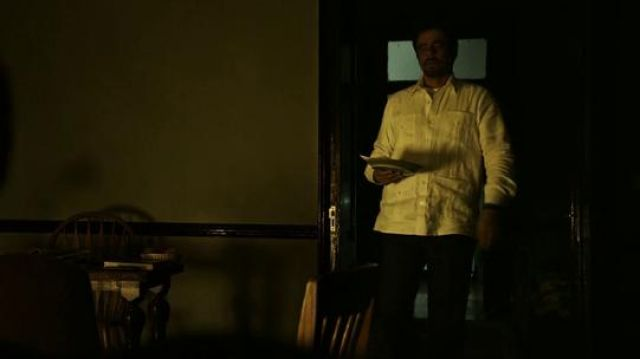 Original White Shirt and Pants worn by Alejandro (Benicio Del Toro) in Sicario: Day of the Soldado