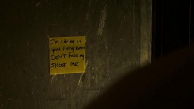 Original Post-it Note used by Matt Graver (Josh Brolin) as seen in Sicario: Day of the Soldado