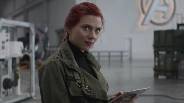 Samsung Tablet used by Natasha Romanoff / Black Widow (Scarlett Johansson) in Avengers: Endgame