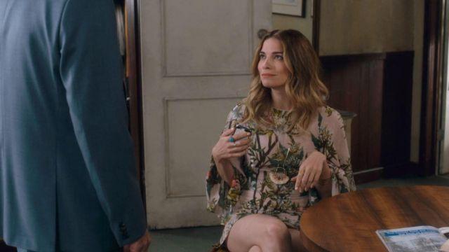 Isabel Marant Etoile Weston Imprimé Voile de Coton Robe portée par Alexis Rose (Annie Murphy) dans Schitt s Creek (S03E13)