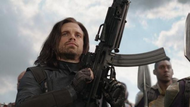Costume Jacket worn by Bucky Barnes / Winter Soldier (Sebastian Stan) as seen in Avengers: Infinity War