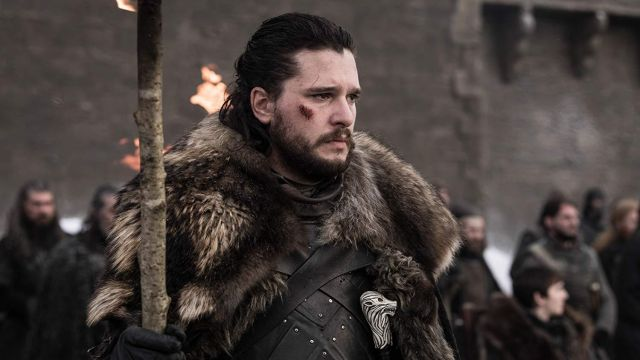 Costume Cosplay worn by Jon Snow (Kit Harington) in Game of Thrones (S08E04)