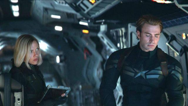 Black Suit Costume worn by Natasha Romanoff / Black Widow (Scarlett Johansson) in Avengers: Endgame