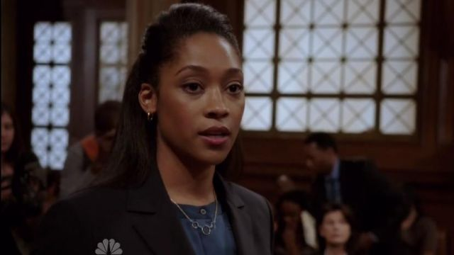 Admirable Jewels Turquoise Layer Necklace worn by Rose Caliay (Tabitha Holbert) in Law & Order: Special Victims Unit (S17E06)