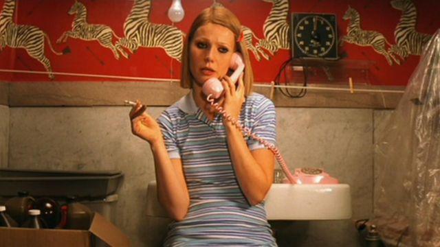 Le téléphone rose de Gwyneth Paltrow dans La Famille Tenenbaum
