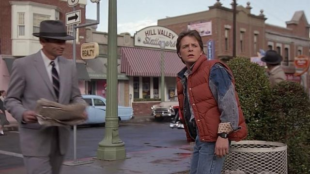 La montre calculatrice Casio CA 50 de Marty McFly (Michael J
