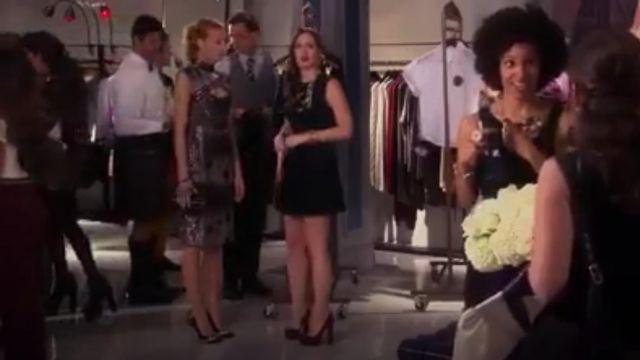 Noir à Rabat du Sac portés par Serena van der Woodsen (Blake Lively) dans Gossip Girl Saison 6 Épisode 7