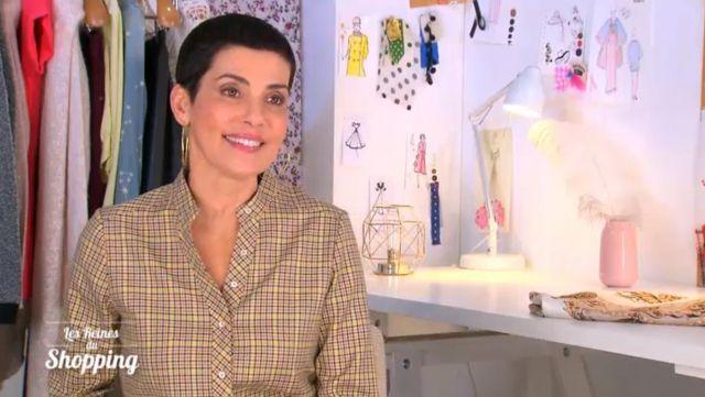 La Chemise à carreaux de Cristina Córdula dans Les reines du shopping du 15/05/2019