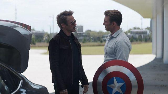 Plaid Shirt worn by Steve Rogers / Captain America (Chris Evans) in Avengers: Endgame