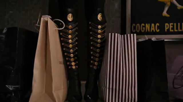 Versace Medusa Boots of Naomi Lapaglia (Margot Robbie) in The Wolf of Wall Street