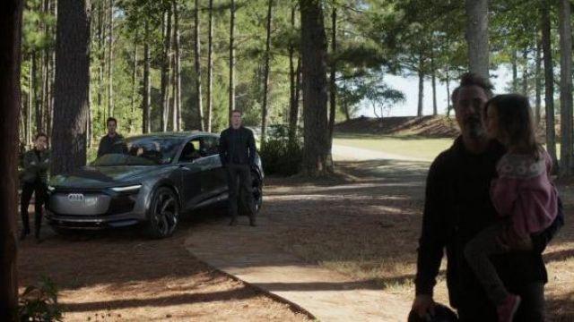 Audi e-tron Sportback Concept used by Steve Rogers / Captain America (Chris Evans) in Avengers: Endgame