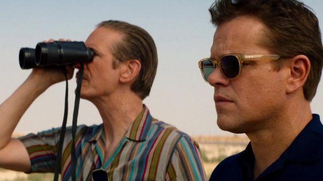 Sunglasses brown Entourage of 7 of Carroll Shelby (Matt Damon) in Ford v. Ferrari