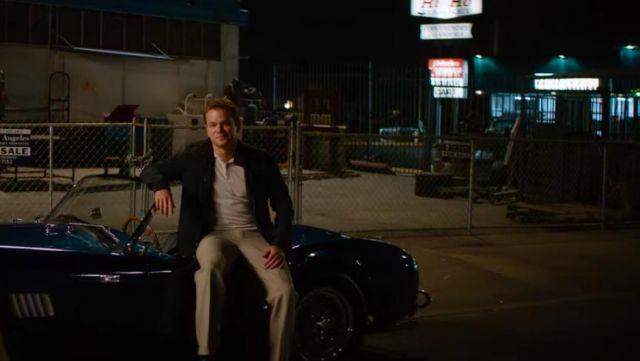 Le bomber noir de Carroll Shelby (Matt Damon) dans Ford v. Ferrari