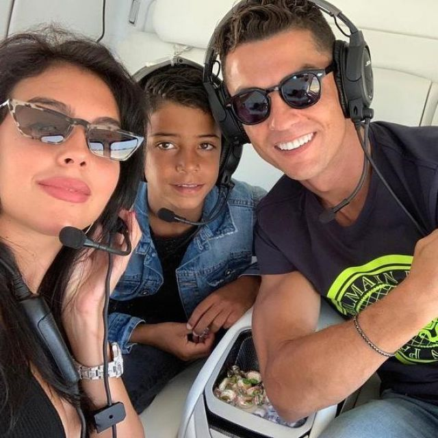 The T Shirt Balmain Logo Neon Worn By Cristiano Ronaldo On His Account Instagram Cristiano Spotern