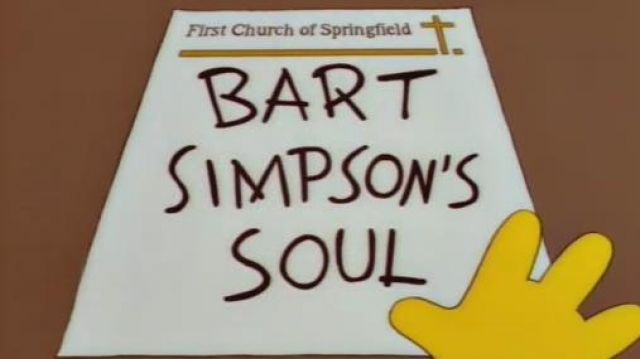Bart's Soul Poster of Bart Simpson (Nancy Cartwright) in The Simpsons (S07E04)