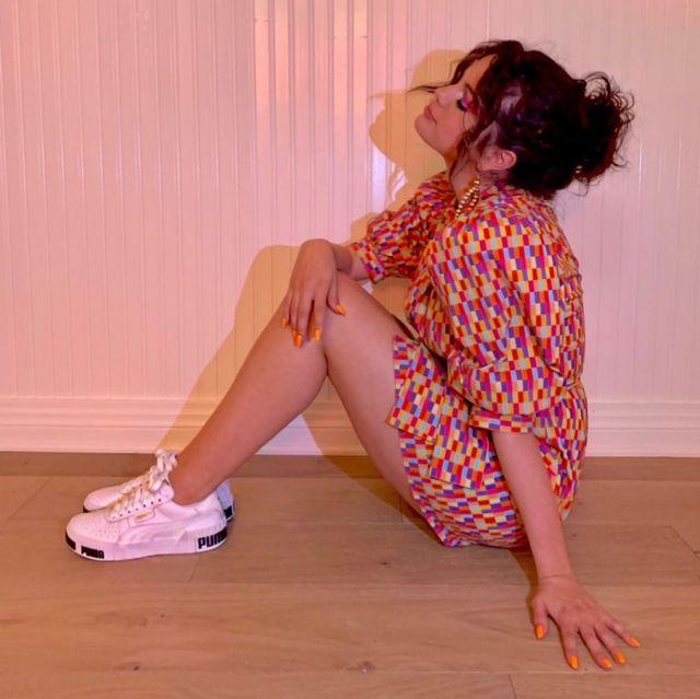 Les baskets Puma portées par selena gomez sur son compte instagram @selenagomez