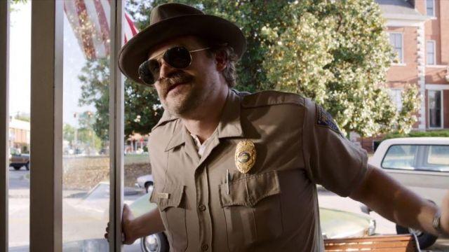 Hopper Sheriff | La Boutique Stranger Things