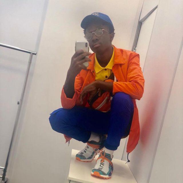caleb mclaughlin sneakers