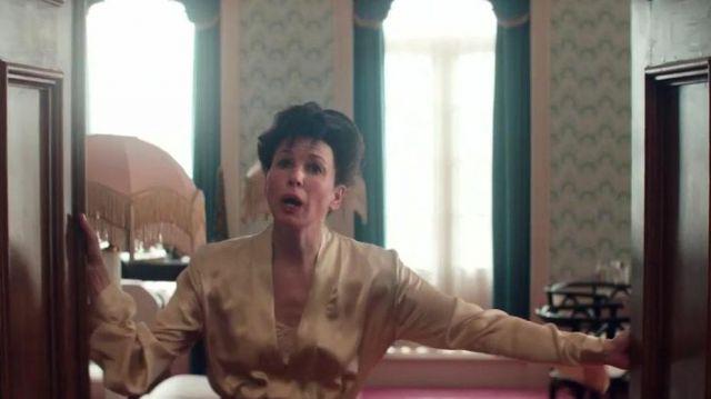 The robe of silk worn by Judy Garland (Renée Zellweger) in Judy