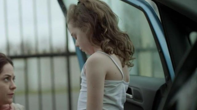 The white tank top worn by Madison (Molly McCann) in Rosie