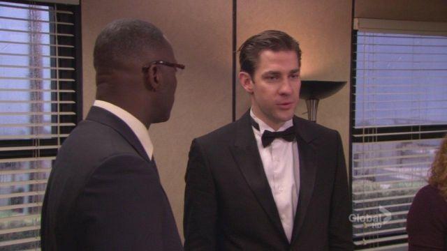 Black Tuxedo of Jim Halpert (John Krasinski) in The Office (Season 05 Episode 20)