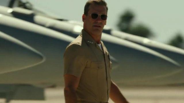Aviator Sunglasses worn by Jon Hamm as seen in Top Gun: Maverick