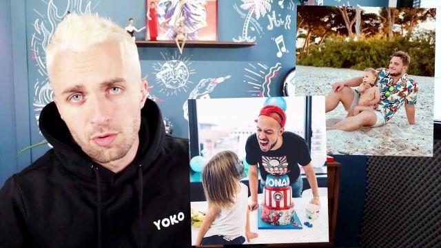Le sweatshirt noir à capuche Yoko de Squeezie dans sa vidéo YouTube Est-ce vraiment ce que vous voulez ?