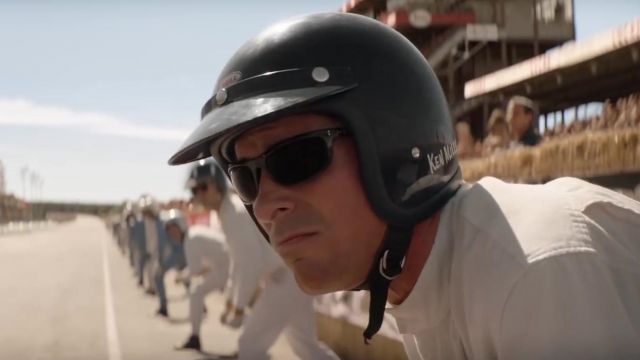 Ray-Ban Sunglasses worn by Ken Miles (Christian Bale) in Ford v. Ferrari