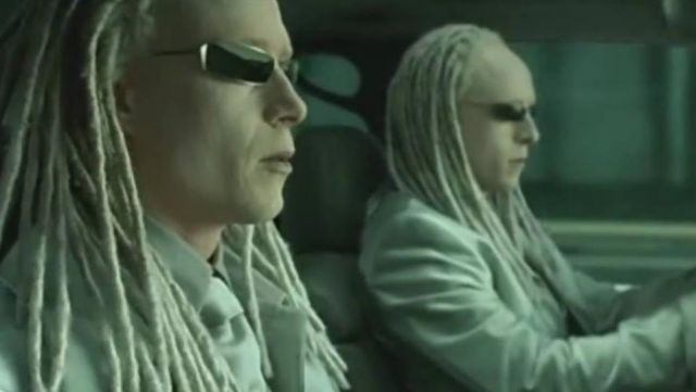 Blinde 4003 Sunglasses worn by Twins (Adrian & Neil Rayment) in The Matrix Reloaded
