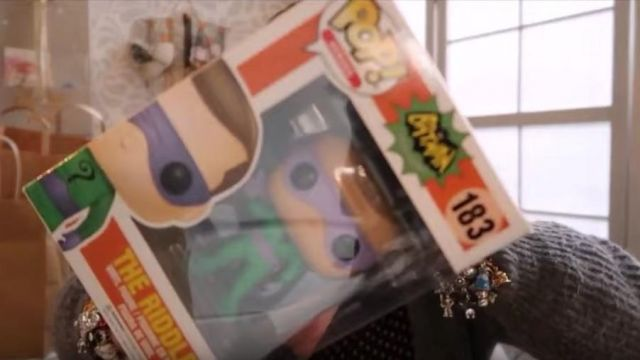 The Figurine Funko Pop Riddler In The Youtube Video Vlog