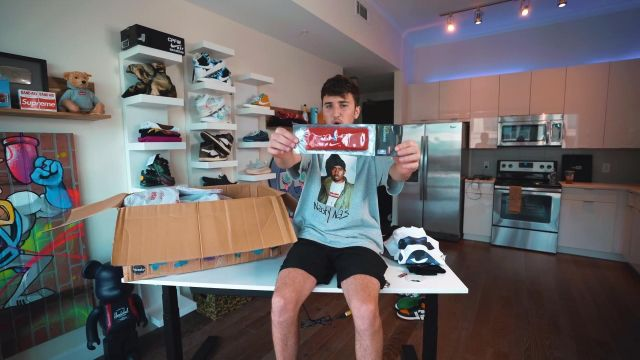 The Headband red Supreme Nike NBA Harrison Nevel in Unboxing